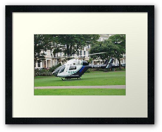 Kent Air Ambulance, England by David Fowler