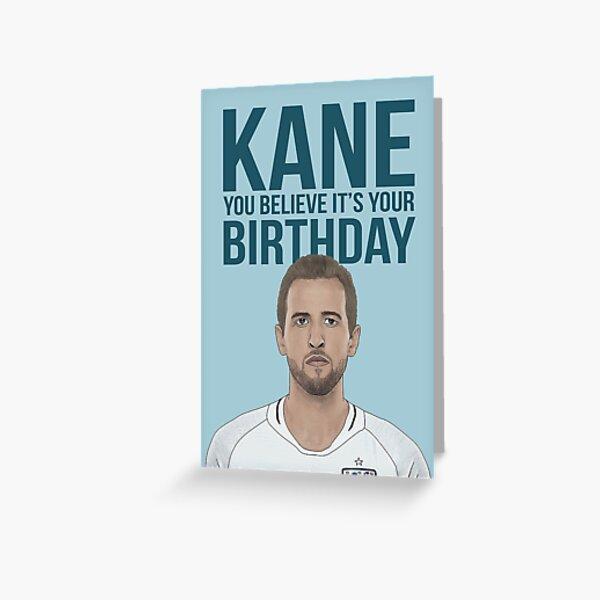 Harry Kane Birthday Card Greeting Card