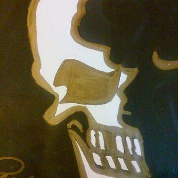 Half skull by rmoses2015