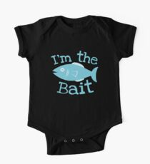 I'm the BAIT with fish fishing  Kids Clothes
