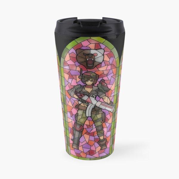 Moze Stained Glass Travel Mug