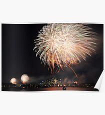 New Years Eve fireworks, Sydney, Australia Poster