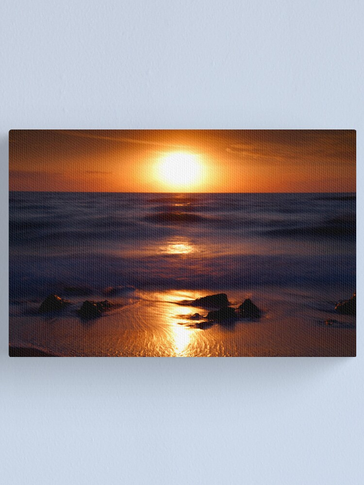 Alternate view of Casperson Beach Suns  Canvas Print