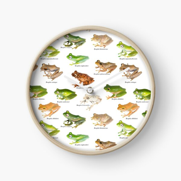 Boophis Tiles I Clock