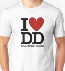 I LOVE DIAMOND DOGS Unisex T-Shirt