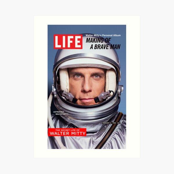 The Secret Life of Walter Mitty Art Print
