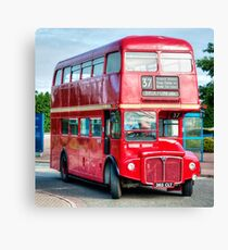 London Transport Routemaster Bus Canvas Print