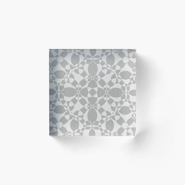 Dark Gray Blanket Acrylic Block