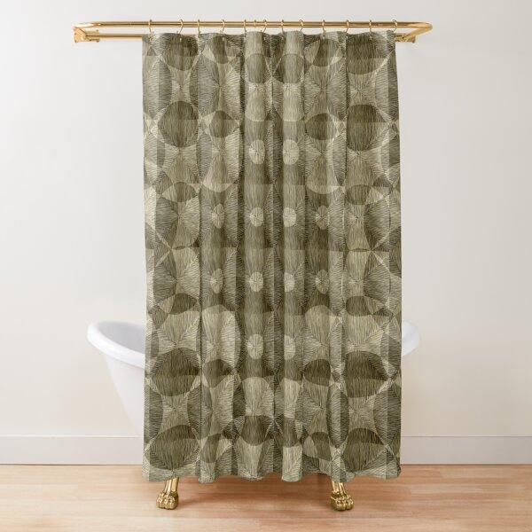 Rosybrown Blanket Shower Curtain