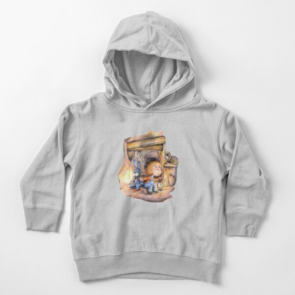Curious bat Toddler Pullover Hoodie