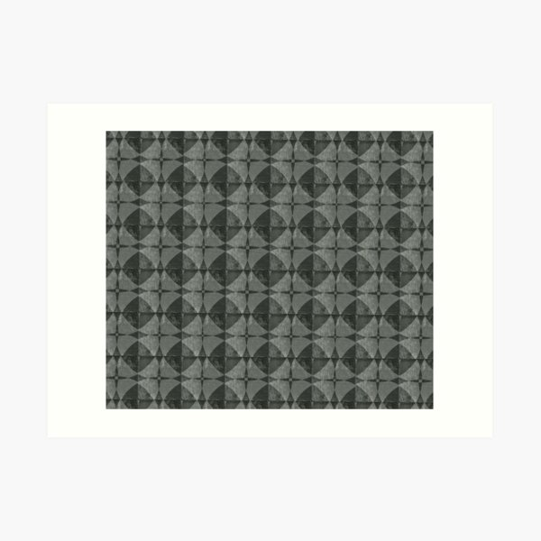 Dim Gray Blanket Art Print