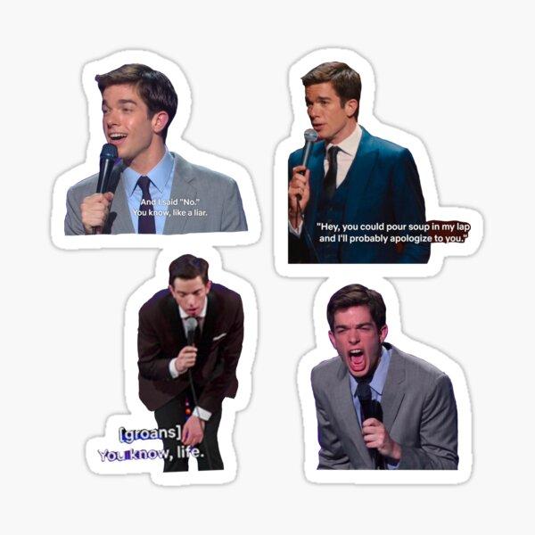 John Mulaney Sticker Pack Sticker