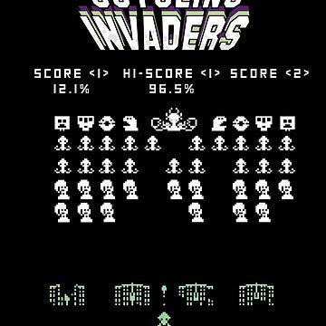 Splatoon Inspired: Octoling Invaders by kajatta