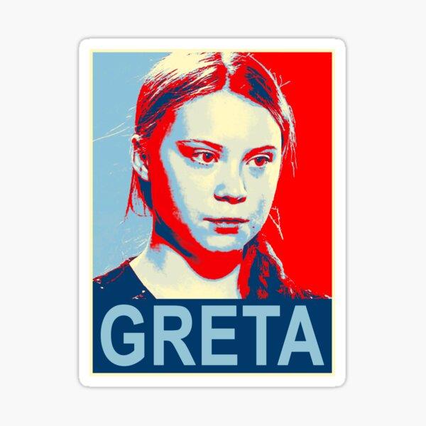 Greta Thunberg Umweltaktivistin Sticker