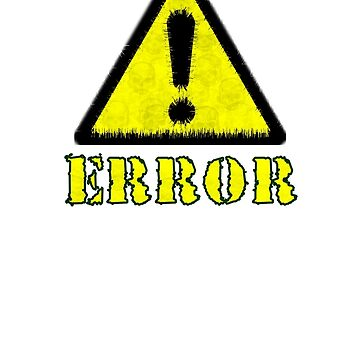 error yellow  by soldout