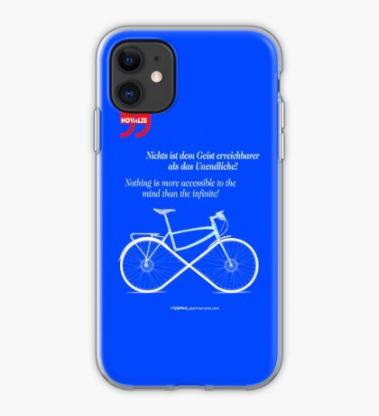 Ride To Infinity (quotation) iPhone Case
