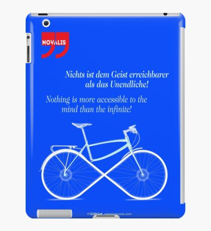 Ride To Infinity (quotation) iPad Case/Skin