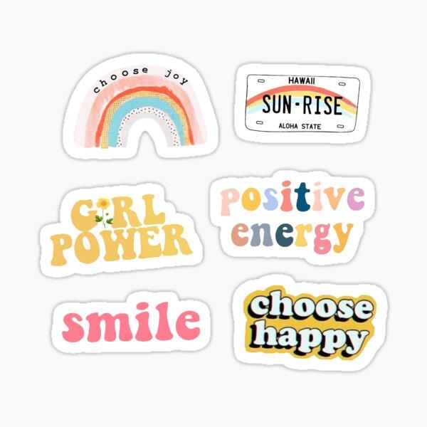 pack d'autocollants de positivité Sticker