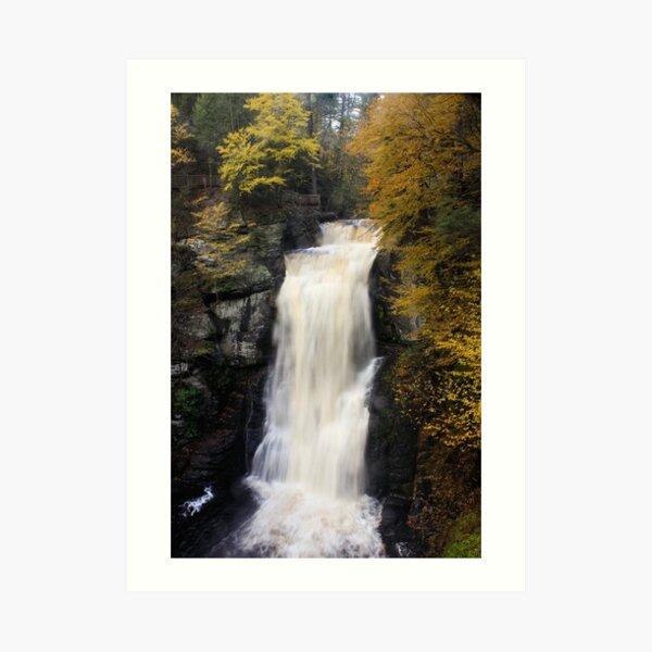 BushKill Falls Art Print