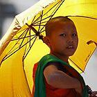 Young Monk. Laos by Aiwei Yu