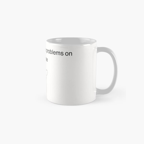 Untitled Goose Game I think I will cause problems on purpose Classic Mug