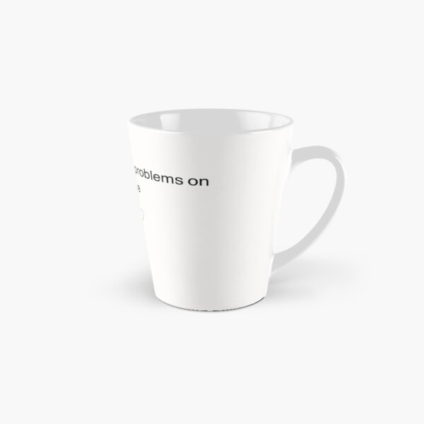 Untitled Goose Game I think I will cause problems on purpose Tall Mug