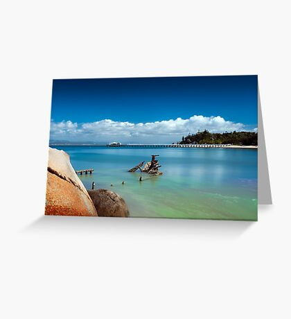 Picnic Bay Wreck  Greeting Card