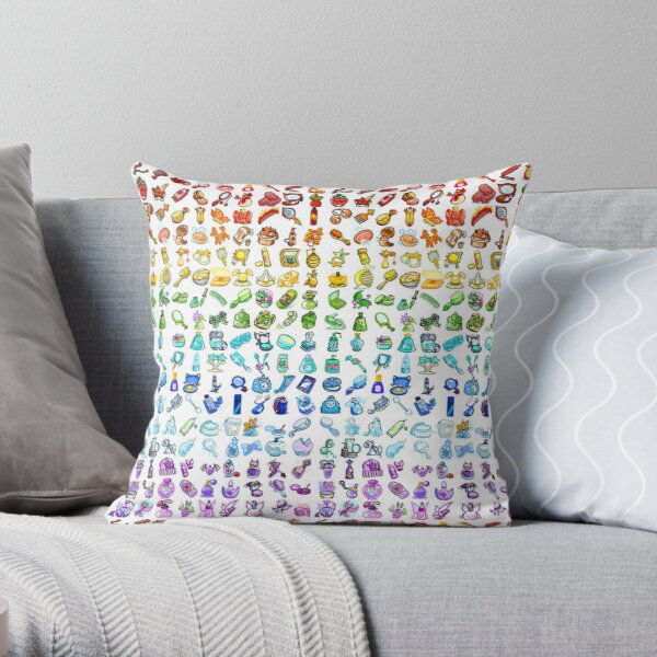 Neopets Items Throw Pillow