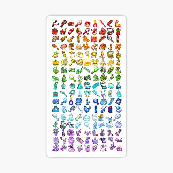 Neopets Items Sticker