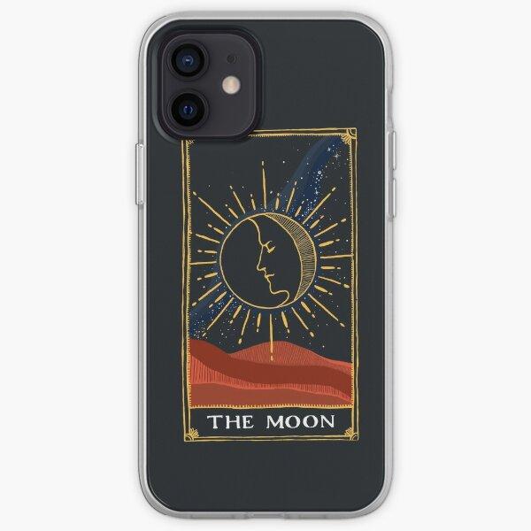 Moon Tarot Card iPhone Soft Case