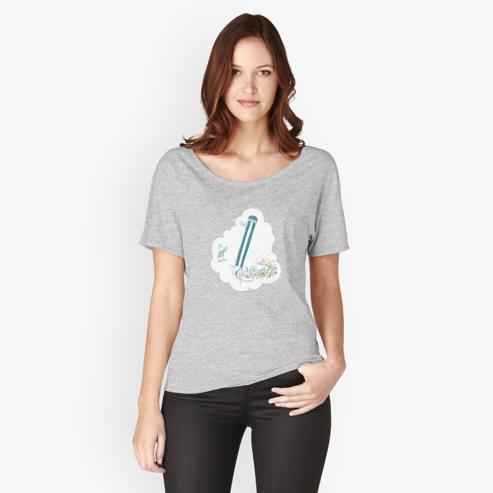 The Magic Pencil Women's Relaxed Fit T-Shirt Front