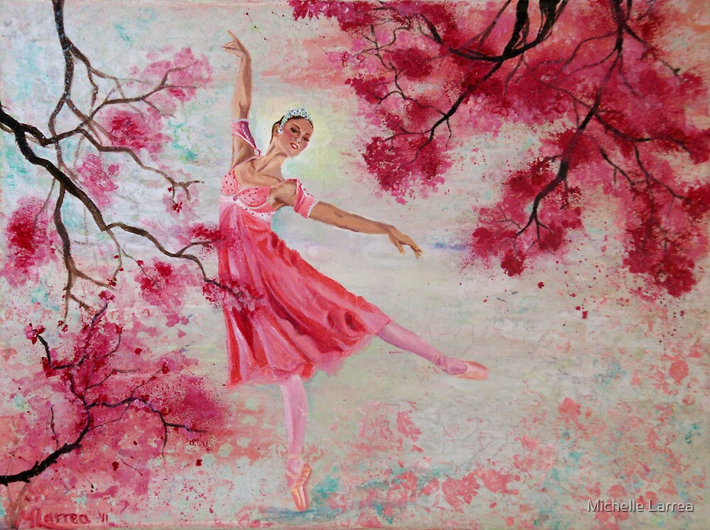 The Four Seasons - Spring Blossoms by Michelle Larrea