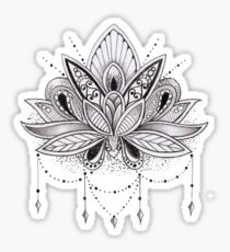 Mandala Lotus Flower Sticker