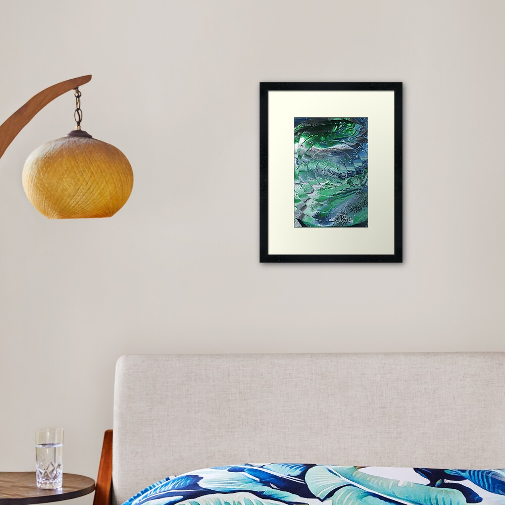 View From a Lighthouse Framed Art Print