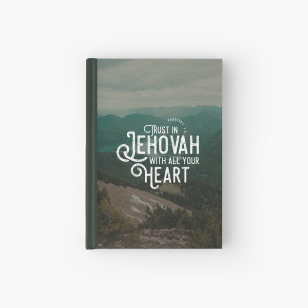 PROVERBS 3:5 Hardcover Journal