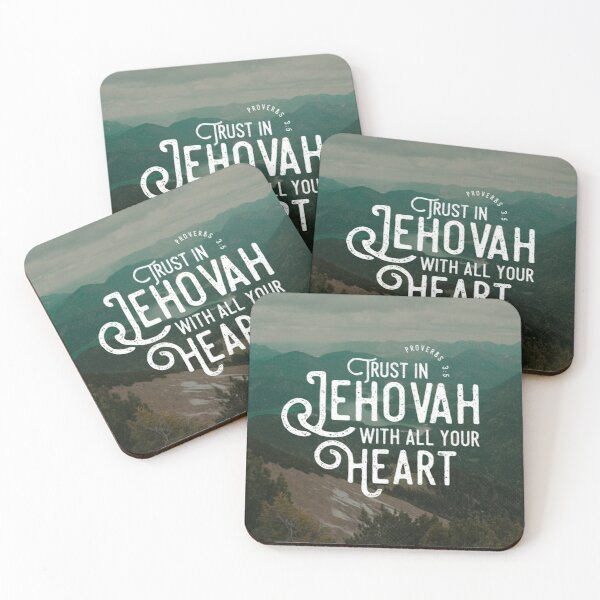 PROVERBS 3:5 Coasters (Set of 4)