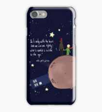 Doctor who meet a little prince iPhone Case/Skin