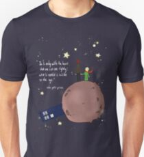 Doctor who meet a little prince Unisex T-Shirt