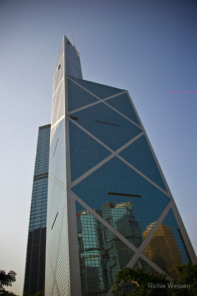 Bank of China Tower - Hong Kong by Richie Wessen