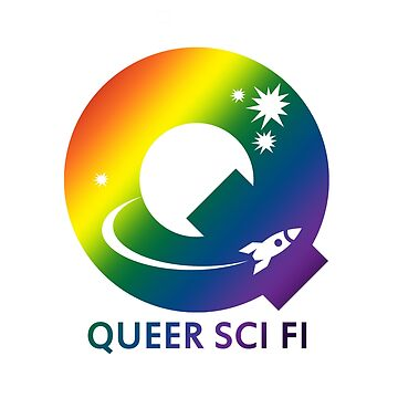 Queer Sci Fi Logo - Bellamy Mix Gradient Edition by queerscifi