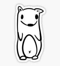 depressive otter Sticker