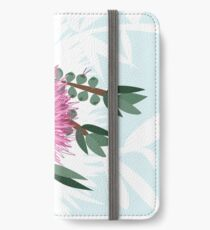 Bottlebrush -  Australian Native Flower - Australiana decor - Aussie Flora iPhone Wallet/Case/Skin
