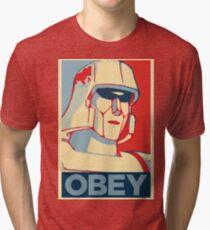 OBEY ! Tri-blend T-Shirt