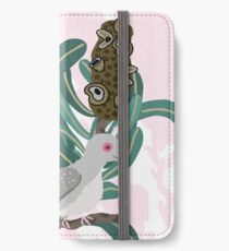 Australian Banksia - Australiana decor - Diamond Dove - Australian Native Bird  iPhone Wallet/Case/Skin