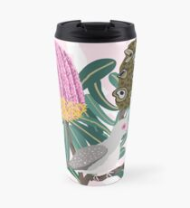 Australian Banksia - Australiana decor - Diamond Dove - Australian Native Bird  Travel Mug