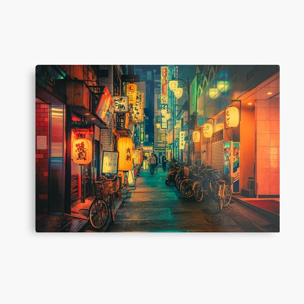 Road of Gold IV- Japan Photo Print Metal Print