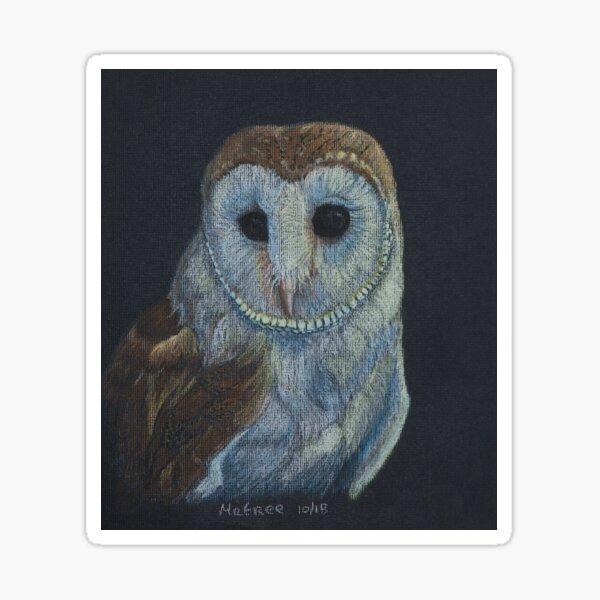 Owl 1 Sticker