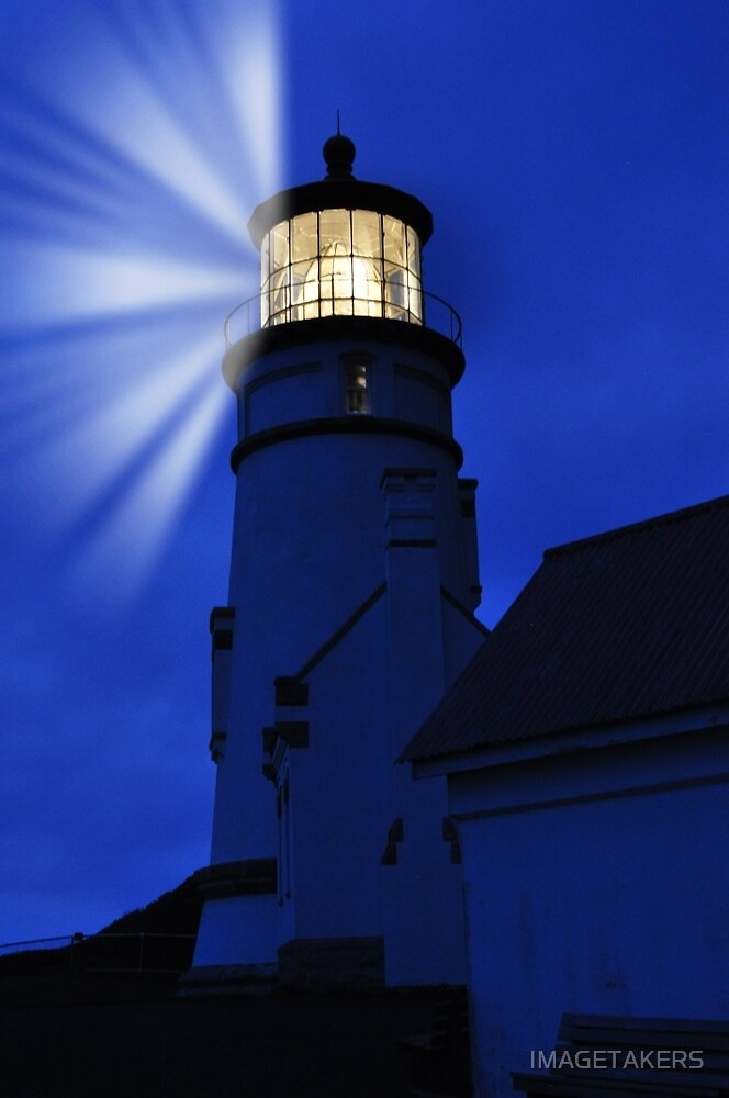 Heceta Head Lighthouse - Light Up The Ocean by IMAGETAKERS