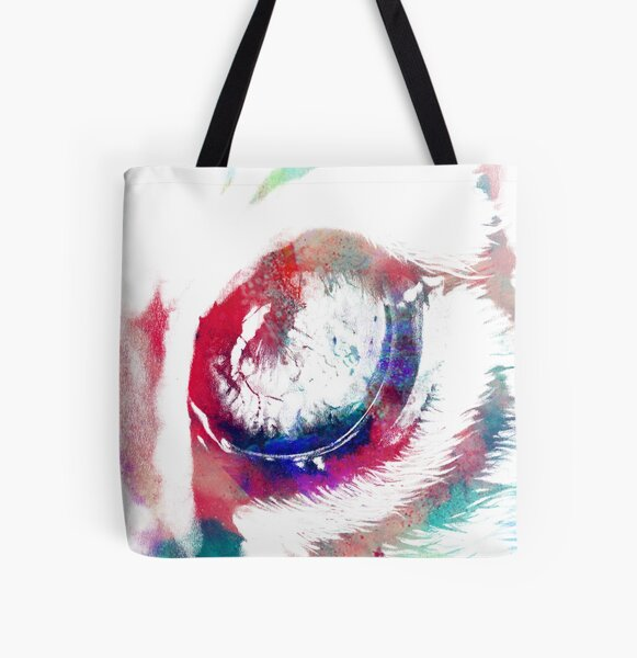 Tiger - Watercolours All Over Print Tote Bag