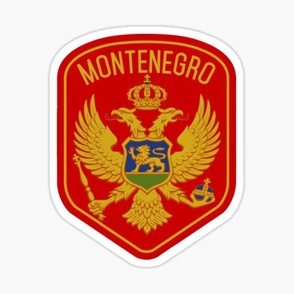 Pegatina Motocicleta Montenegro Pegatina